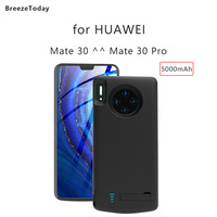 Battery Charger Case Charging Power Case Battery Case 5000mAh For HUAWEI Mate 30 Power Bank For HUAWEI Mate 30 Pro Case Battery|Battery Charger Cases| |  -