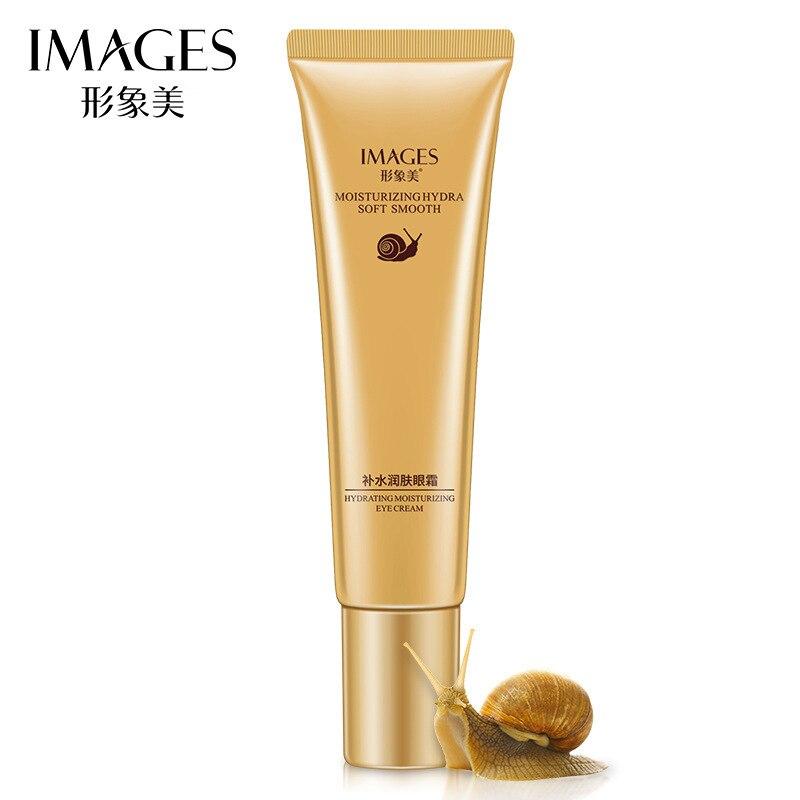 IMAGES Women Snail Eye Cream Whitening Moisturizing Anti-aging Wrinkle Remove Dark Circles Snail Cream Eyes Skin Care