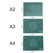 Двухсторонний ПВХ коврик для резки A2/A3/A4/A5, прочный самовосhealing вающийся коврик для резки, лоскутные инструменты, ручная пластина для резки а...