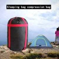 Outdoor  S M Size Waterproof Compression Stuff Sack Bag Lightweight Travel Hiking Camping Sleeping Bag Storage Package