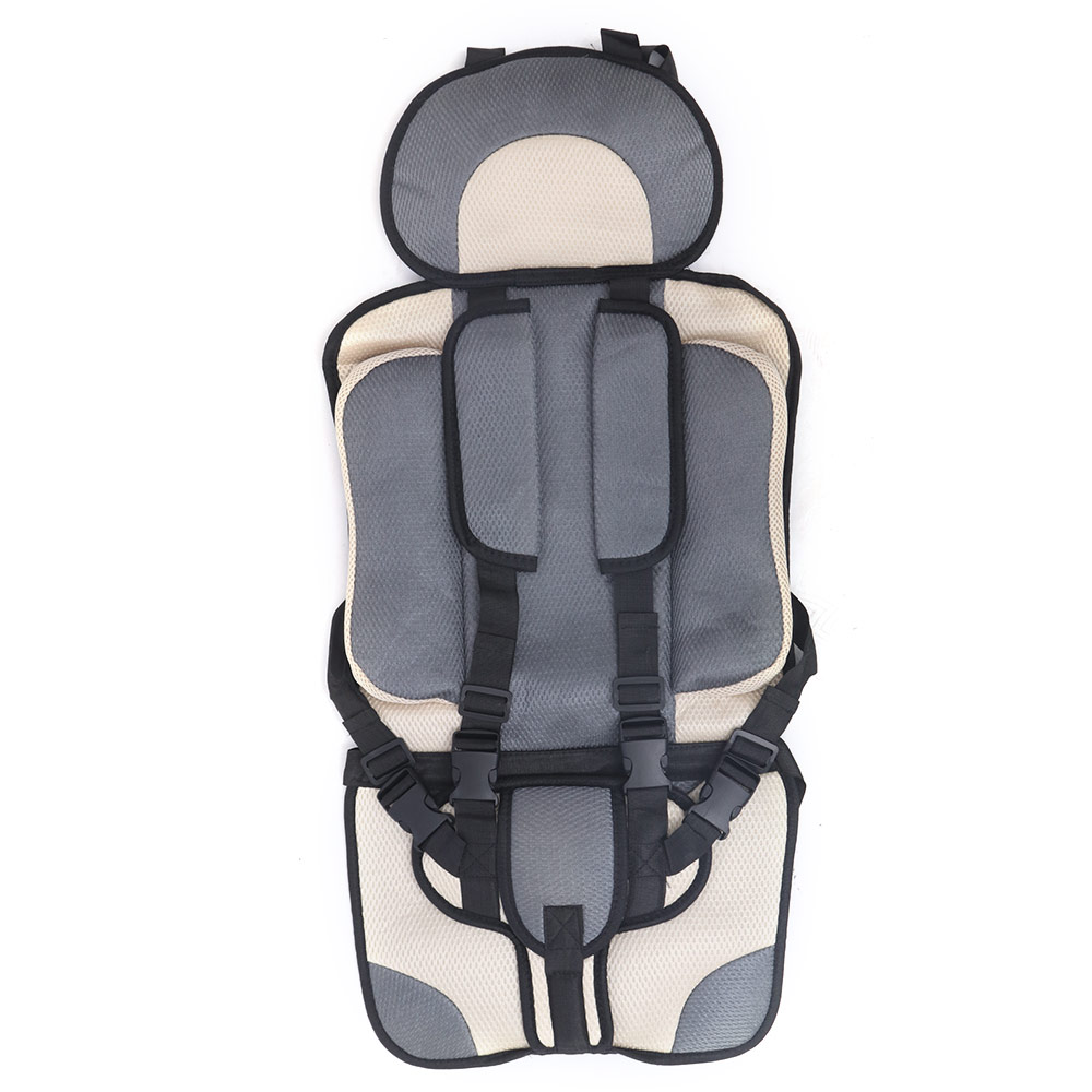 Anti-Slip Soft Adjustable Buckle Baby Chair Portable Infant Seat Safety Comfortable Armchair Travel Folding Chair For Babies