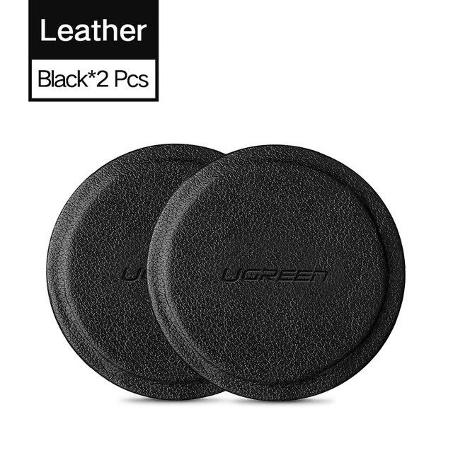 2 Round Leather