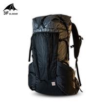 3F UL gear сверхлегкий рюкзак водонепроницаемый прочный большой емкости легкий каркас пакеты для наружного кемпинга и походов 45L+ 10L