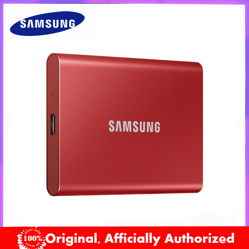 Original T7 Samsung portable SSD 1TB 2TB 500GB Type-C USB 3.2 Gen2 External Solid State Drives compatible for laptop