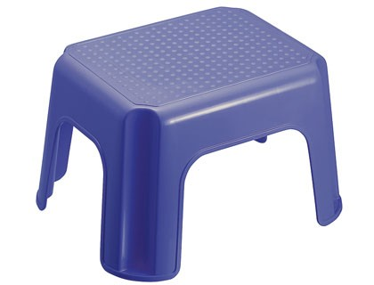 STOOL OFFISYS STACKABLE 4 PAWS 1 TIER BLUE