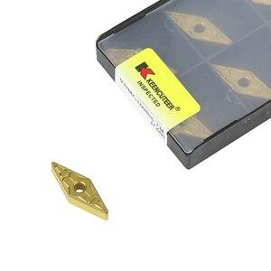 Image 3 - 10pcs VNMG160404 VNMG160408 Carbide Insert for MVJNR MVVNN External Turning Tool VNMG Blade Stainless Steel Cutter CNC Lathe