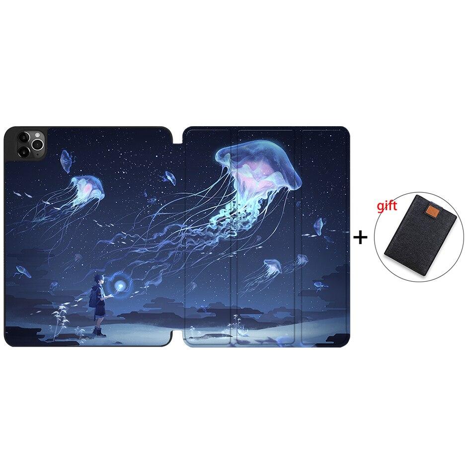 IPTPU19 MULTI MTT Case For iPad Pro 12 9 inch 4th Generation Tablet 2020 Soft TPU PU Leather