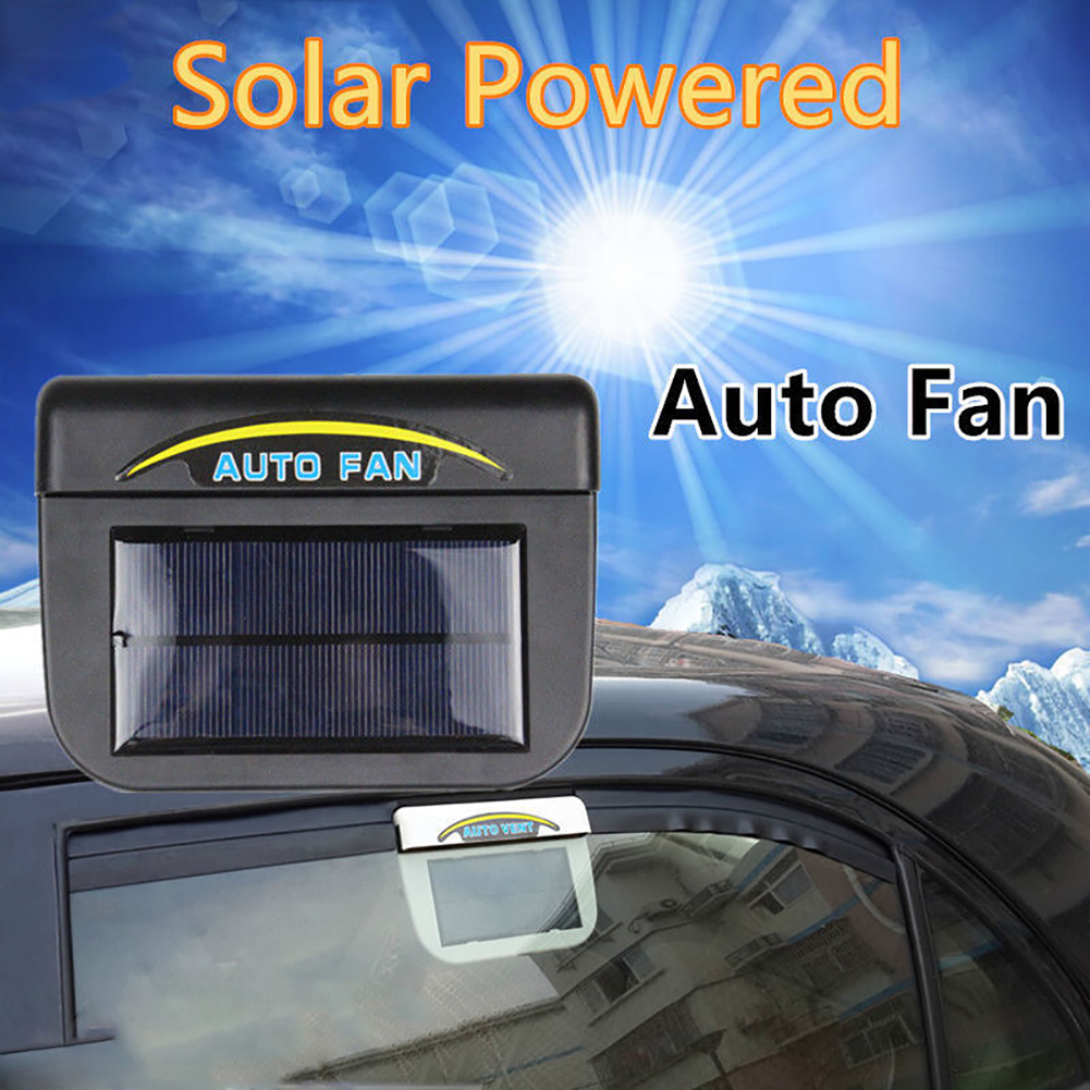 Universal Car Exhaust Fan Auto Solar Exhaust Fan Lowering Temperature Car Cooler For Truck Car Styling Accessories