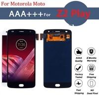 Pantalla LCD AMOLED para Motorola Moto Z2 Play, montaje de digitalizador con pantalla táctil Z2Play XT1710-01/07/08/10