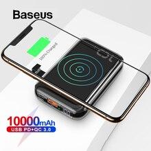 Baseus 10000mAh Qi Wireless Charger Power Bank for iPhone Sa