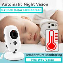 VB603 2.4G Wireless Video Baby Monitor With 3.2 Inch Color LCD 2 Way Audio Night Vision Surveillance Security Camera Babysitter