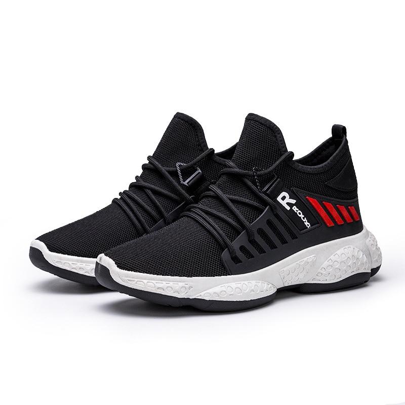 Men Shoes Sneakers Flat Male Casual Shoes Comfortable Men Footwear Breathable Mesh Sport Shoes Tzapatos De Hombre