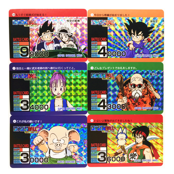 54pcs/set Super Saiyan Dragon Ball Z Baqu Heroes Battle Card Ultra Instinct Goku Vegeta Game Collection Cards