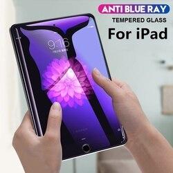Защитная пленка для экрана для ipad 10,2, 4, 3, 2, Air, 2, Mini, 5, защита экрана от синего излучения для ipad 7го поколения Pro 9,7, 10,5, 11, стекло