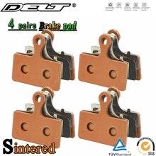 4 pair Sintered Bicycle Disc Brake Pad For SHIMANO XT/R M985 M988 M785 SLX M666 M675 M615 Alfine S700 CX77 R515 517 Accessories
