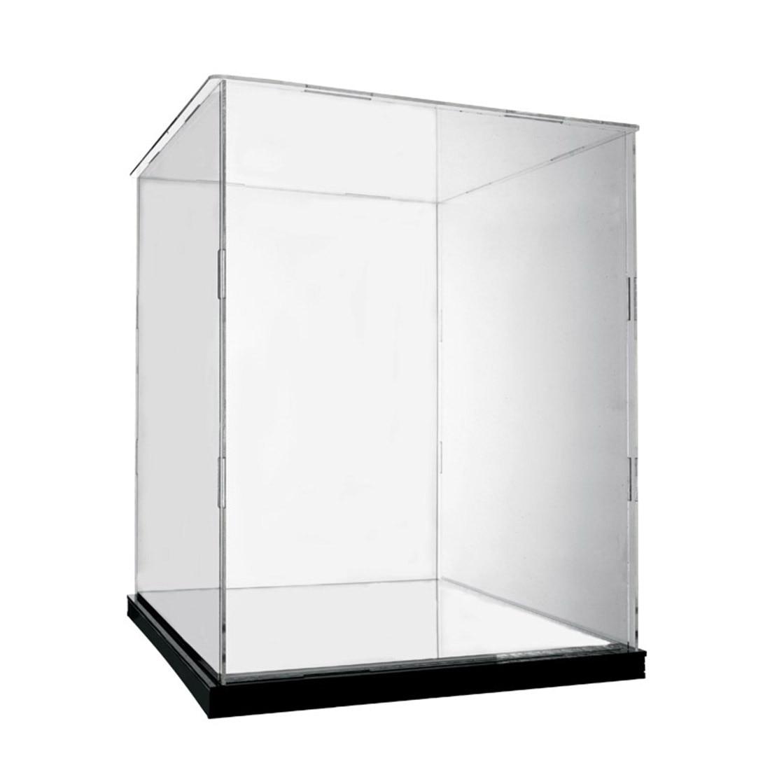 caixa de exibicao dustproof acrilica do bloco 01