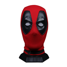 2019 New Deadpool Mask Nylon Breathable Adult Full Head Masks Movie Deadpool Costumes Prop Halloween Party Wholesale Hood