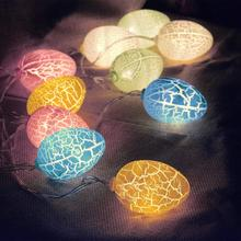 Easter Eggs Light String USB Garland LED String Battery Fairy Lights Outdoor Lighting Lamp Ball Diwali Decorations Shopping Mall