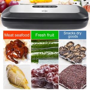 Image 5 - La meilleure Machine électrique de scelleur de vide 220V 110V avec 10 pièces économiseur de nourriture met en sac la Machine automatique demballage sous vide de nourriture de ménage