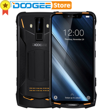 DOOGEE S90 IP68/IP69K Waterproof 6GB 128GB Cell Phone shockproof 5050mAh 6.18 MT6671 16MP Camera Smartphone