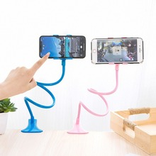 цена на Muti Color Long Arm Lazy Phone Holder Mobile Phone Flexible Bed Desk Table Stand Holder Clip Bracket For iPhone Huwei Samsung