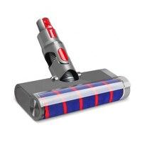 Aspiradores de pó peças tapete piso duro cabeça do motor limpeza elétrica liberação rápida escova rolo macio para dysons v7 v8 v10 v11|Peças p/ aspirador de pó| |  -