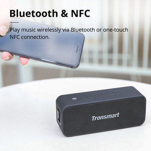 Image 2 - Original Tronsmart T2 Plus Bluetooth 5.0 Speaker 20W Portable Speaker NFC Column IPX7 Soundbar with TWS Voice Assistant Micro SD