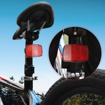 MTB Bike Front Reflective Light Bicycle Rear Handlebar Warning Lamp Easily Installation Personal Bicycle Parts Accessories image