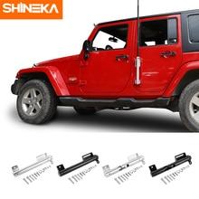 SHINEKA – support de mât de drapeau multifonctionnel pour Jeep Wrangler, Kit de support de mât de drapeau pour Jeep Wrangler JK JL TJ JT 1996 – 2020