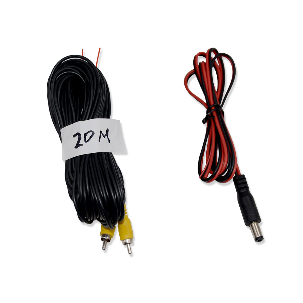 Jintang, аудио-и видеокабель Универсальный Авто RCA AV по производству кабелей и проводов для автомобиля камера заднего вида для парковки 6m видео ...