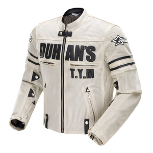 Image 3 - DUHAN Summer Motorcycle Jacket Men Breathable Mesh Riding Moto Jacket Motorcycle Body Armor Protector Moto Cross Clothing