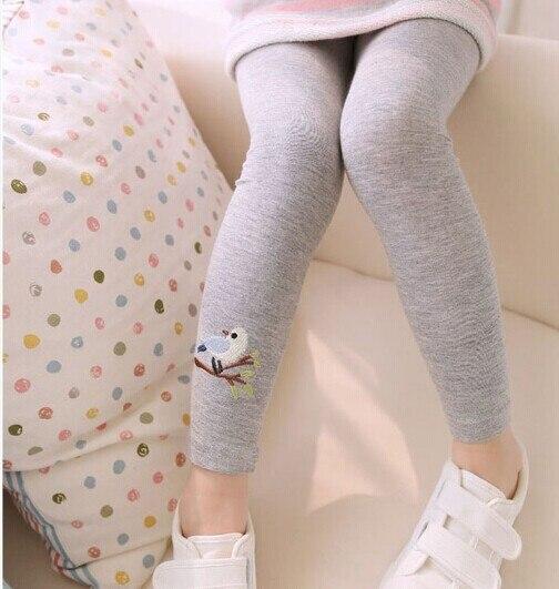 Toddler Baby Girls Leggings Kids Pants Warm Leggings Girl Pattern Stretchy Pants Trousers