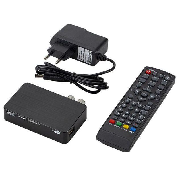 Mini K2 مستقبل التلفاز DVB T2 dvb t H.264 FHD الأرضية الرقمية فك الترميز موالف التلفزيون قمة مجموعة صندوق لرصد دعم PVR واي فاي الهوائي
