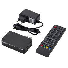 Mini K2 TV Empfänger DVB T2 DVB T H.264 FHD Terrestrischen Digital Decoder TV Tuner Set Top Box für Monitor Unterstützung PVR wifi Antenne