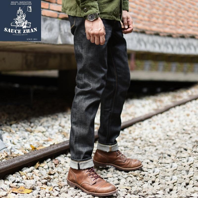 SauceZhan 310XX S Jeans per Gli Uomini Cimosa Jeans Denim Grezzo Jeans Lavati Cimosa Indigo Denim 13 ONCE Jeans Dritto-in Jeans da Abbigliamento da uomo su  Gruppo 1
