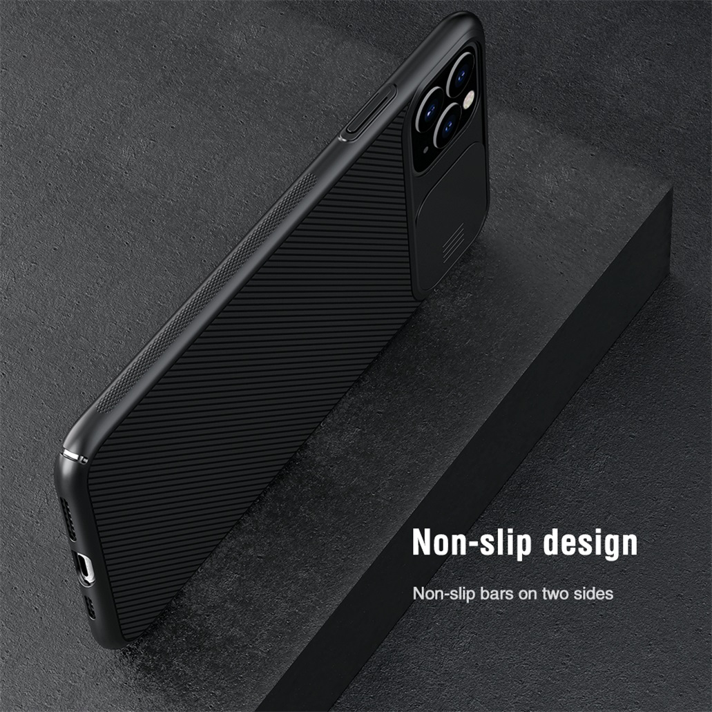 H8f0e0b5fec3d44c9be98e4a03d6237e1M For iPhone 11 11 Pro Max Case NILLKIN CamShield Case Slide Camera Cover Protect Privacy Classic Back Cover For iPhone11 Pro