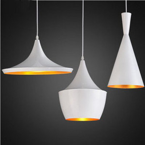 Image 3 - Modern E27 Musical Aluminum copper shade musical pendant lamp ABC(Tall,Fat and Wide) Beat Hanging Light,110V/220V/230V 3pcs/pack