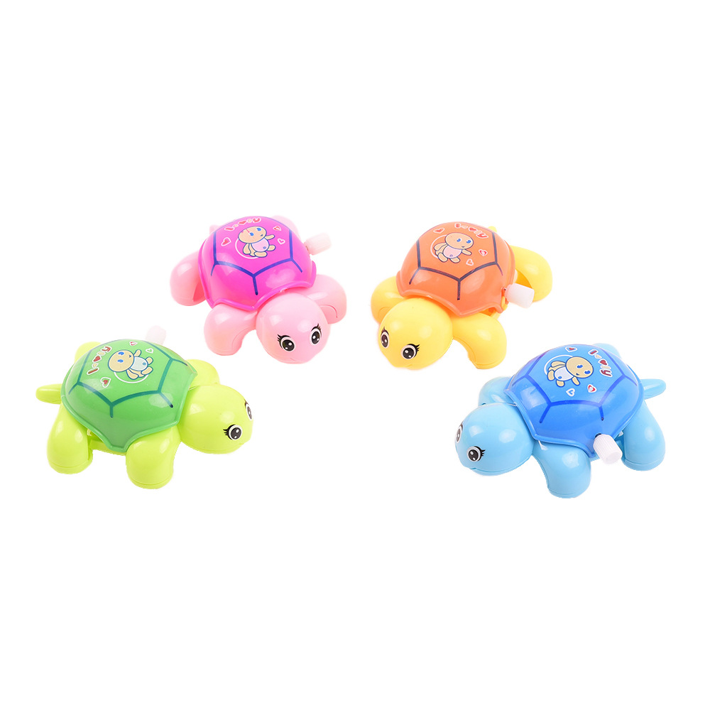 Yiwu Small Toys Spring Little Turtle 628 Winding Turtle On Article Seven Colours Gui 27