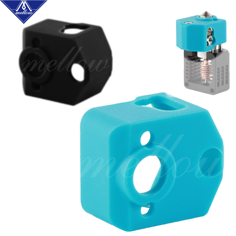Mellow NF Quality Cases NF-Crazy Silicone Socks For 3D Printer Hotend Temperature Protection For Ender 3 Pro Alfawise