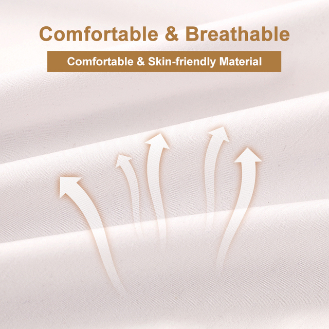 Solid Color Waterproof Mattress Cover 3