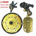 LTWOO AT12 MTB горный велосипед группа набор 12 скоростей Рычаг переключения передач задний переключатель RACEWORK кассета 52 т YBN цепь золото для Shimano