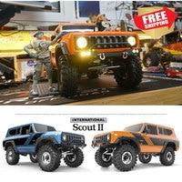 REDCAT GEN8 SCOUT II RTR KIT Orange blue crawler truck RC Radio control car 1/10 scale