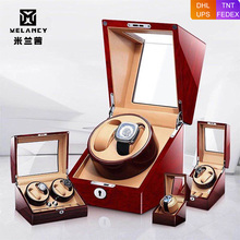 Watch-Box Motor Q-Winder Wooden Rotate Auto Cabinet-Lacquer