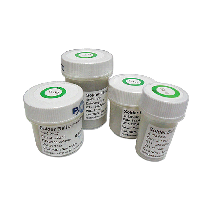 250K pcs//Bottle 0.4mm 0.4 0.40 mm QWIN BGA Solder Leaded Reballing Balls