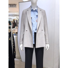 2019 autumn new ladies blazer High quality temperament long sleeve office coat female Long jacket Womens suit