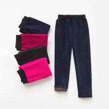 VEENIBEAR, теплые зимние леггинсы для девочек, бархатные штаны для девочек, детские штаны, зимняя одежда для девочек, От 2 до 7 лет