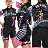 Roupa de ciclismo feminina manga curta, equipamento de equipe corporal sexy de tri skinsuit, roupas de ciclismo personalizadas, triathlon, 2020 17