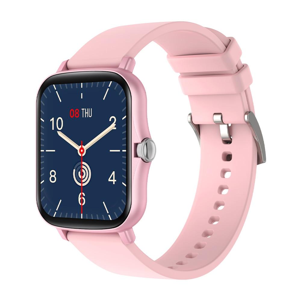 H8f0e7af0d58f4fabb404f73d6fd17e84C COLMI P8 Plus 1.69 inch 2021 Smart Watch Men Full Touch Fitness Tracker IP67 waterproof Women GTS 2 Smartwatch for Xiaomi phone