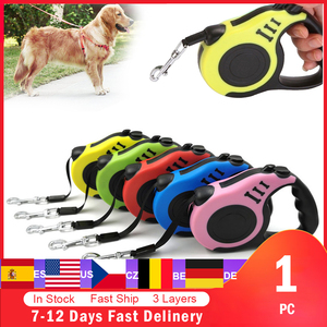 Image 1 - Retractable Dog Leash Automatic Dog Puppy Leash Rope Pet Running Walking Extending Lead For Small Medium Dogs Pet Products