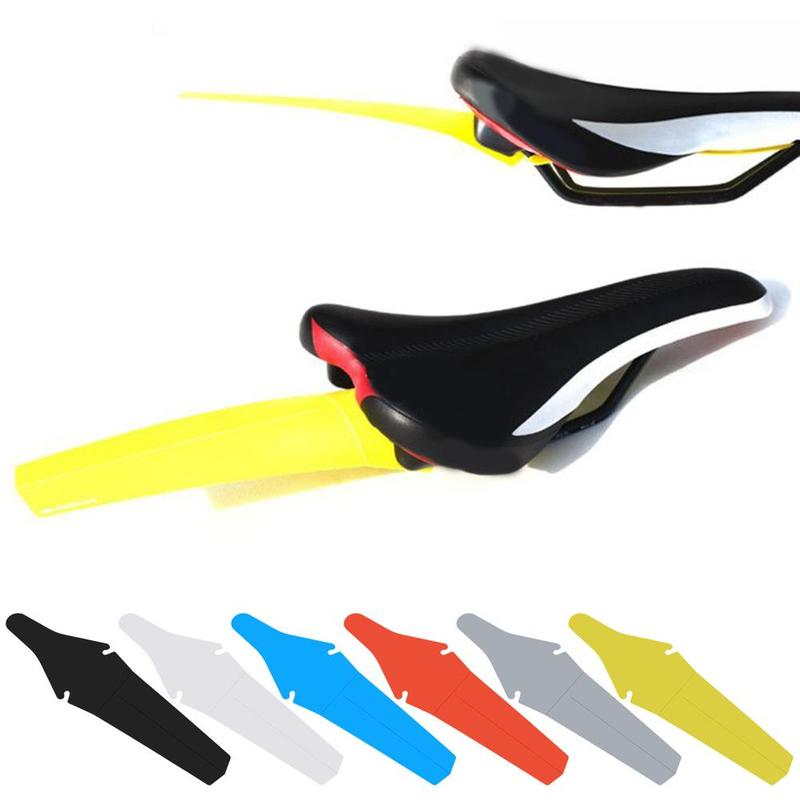 Bicycle Saddle Road MTB Mudguard Fender Ass Plastic Wing Cycling Saddle Mountain Bike Fender Mud Guard Fender Removable Parts